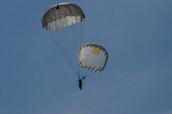 парашютист Стоковые Фотографии RF