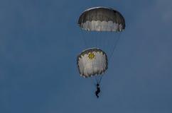 парашютист Стоковая Фотография
