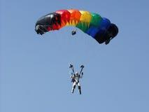 парашюты стоковая фотография