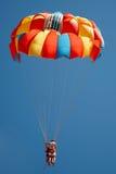 парашют летания пар Стоковые Изображения