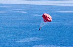 парашют пляжа Стоковое Изображение RF