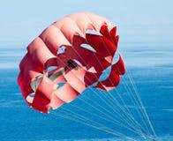 парашют пляжа Стоковые Фотографии RF