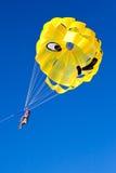 парашют полета Стоковая Фотография