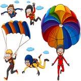 парашют бесплатная иллюстрация