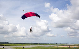 парашют Стоковая Фотография