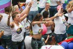 Парад Амстердам 2014 канала гей-парада Стоковое Изображение