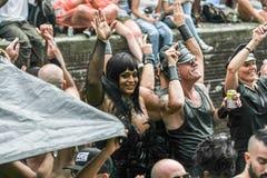 Парад Амстердам 2014 канала гей-парада Стоковая Фотография