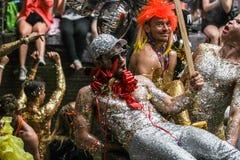 Парад Амстердам 2014 канала гей-парада Стоковое Фото