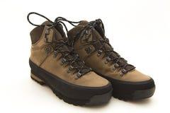 Пара ботинок горы стоковое изображение rf