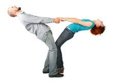 пара вручает головки задерживая Стоковое Фото