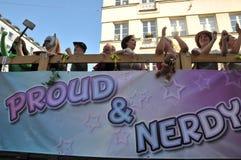 Парад гей-парада 2013 в Стокгольме Стоковое Изображение RF