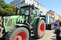 Парад гей-парада 2013 в Стокгольме Стоковое фото RF