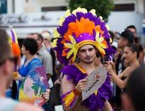 Парад гей-парада в Sitges Стоковое Изображение RF