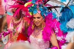 Парад гей-парада в Sitges Стоковое фото RF