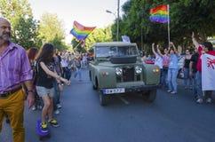 Парад гей-парада, Кипр Стоковое фото RF