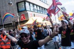 Парад гей-парада Кёльн Стоковое фото RF