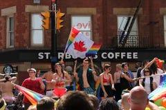 Парад гей-парада d 2013 стоковое изображение