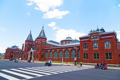 Парад грома завальцовки вдоль независимости Ave в столице государства, США Стоковая Фотография RF