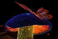 Парад Дисней электрический Стоковое Изображение