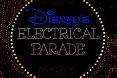 Парад Дисней электрический Стоковое Фото