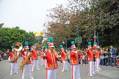 парад Дисней Hong Kong Стоковое фото RF