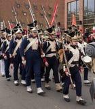 Парад Дня независимости. Стоковое Изображение RF