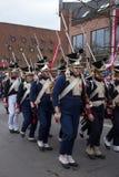 Парад Дня независимости. Стоковые Изображения