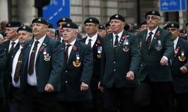 2015, парад день памяти погибших в первую и вторую мировые войны, Лондон Стоковое Изображение