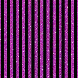 Параллельные вертикальные линии розовые sequins звезды Стоковое Изображение RF