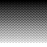Параллельные горизонтальные прямые волнист-зигзага - горизонтально repeatable Стоковая Фотография RF