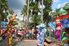 Парад жизни черепашок Дисней в Disneyworld Стоковое Изображение