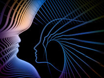 Парадигма геометрии души Стоковая Фотография RF