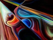 Парадигма переднего движения иллюстрация штока