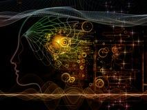 Парадигма сознавания машины Стоковое Фото