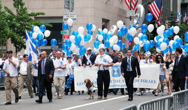 парад Израиля 2011 дня Стоковое Изображение RF