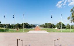 Парад Канберра Anzac австралийца стоковое изображение