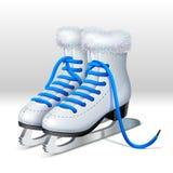 Пара коньков льда бесплатная иллюстрация