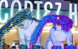 Парад Лас-Вегас хеллоуина Стоковые Изображения RF