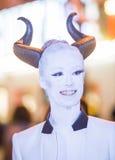 Парад Лас-Вегас хеллоуина Стоковое фото RF