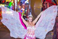 Парад Лас-Вегас хеллоуина Стоковое Изображение RF