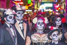 Парад Лас-Вегас хеллоуина Стоковая Фотография