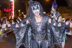 Парад Лас-Вегас хеллоуина Стоковая Фотография RF
