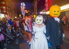 Парад Лас-Вегас хеллоуина Стоковое Изображение