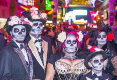 Парад Лас-Вегас хеллоуина Стоковое Фото
