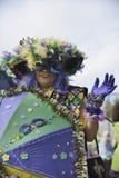 Парад марди Гра Стоковое фото RF