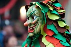 парад маски freiburg Германии Стоковые Фото