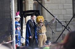 Парад масленицы в Tulln Стоковые Фото