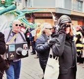 Парад масленицы Кёльна стоковая фотография rf