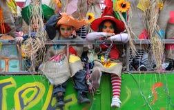 Парад масленицы, Лимасол Кипр 2015 Стоковые Фотографии RF