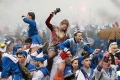 Парад масленицы Xanthi Стоковые Фото